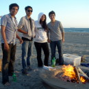 Build A Fire On The Beach
